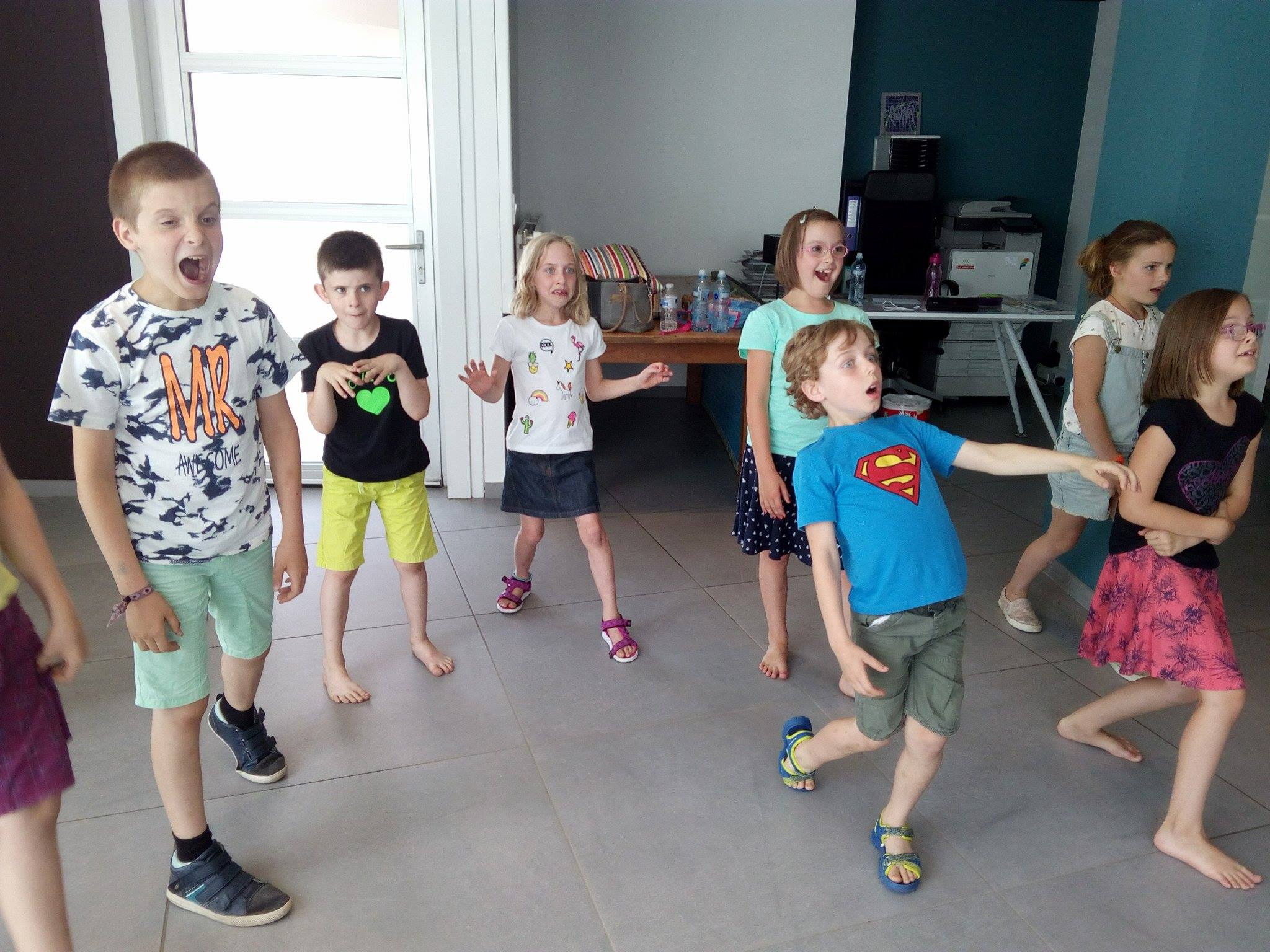 Atelier d'impro parent / enfant