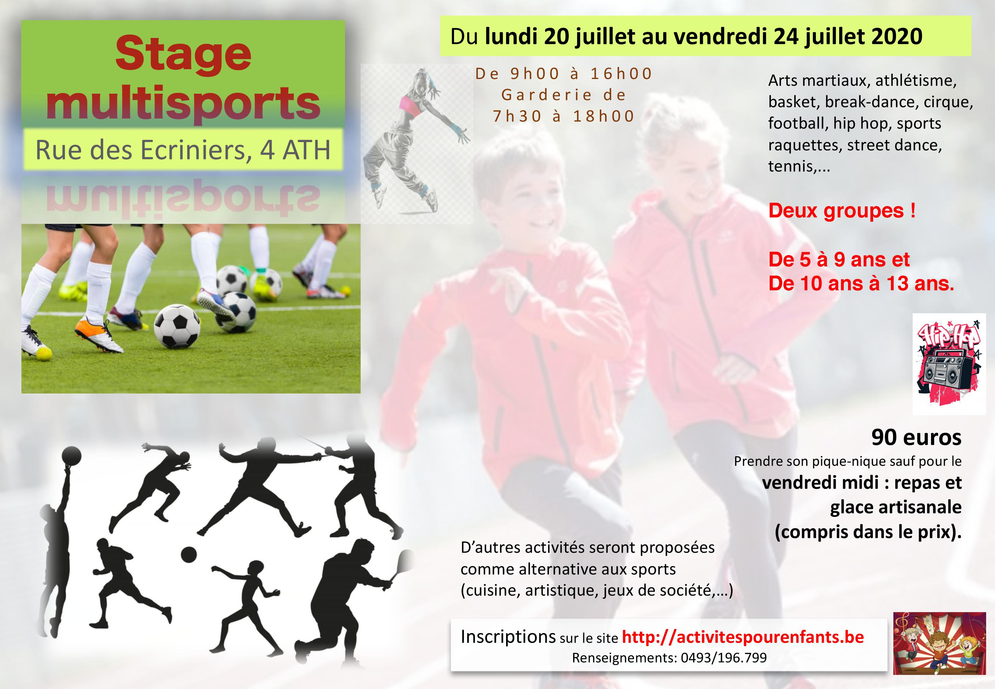 Stage sports Ath