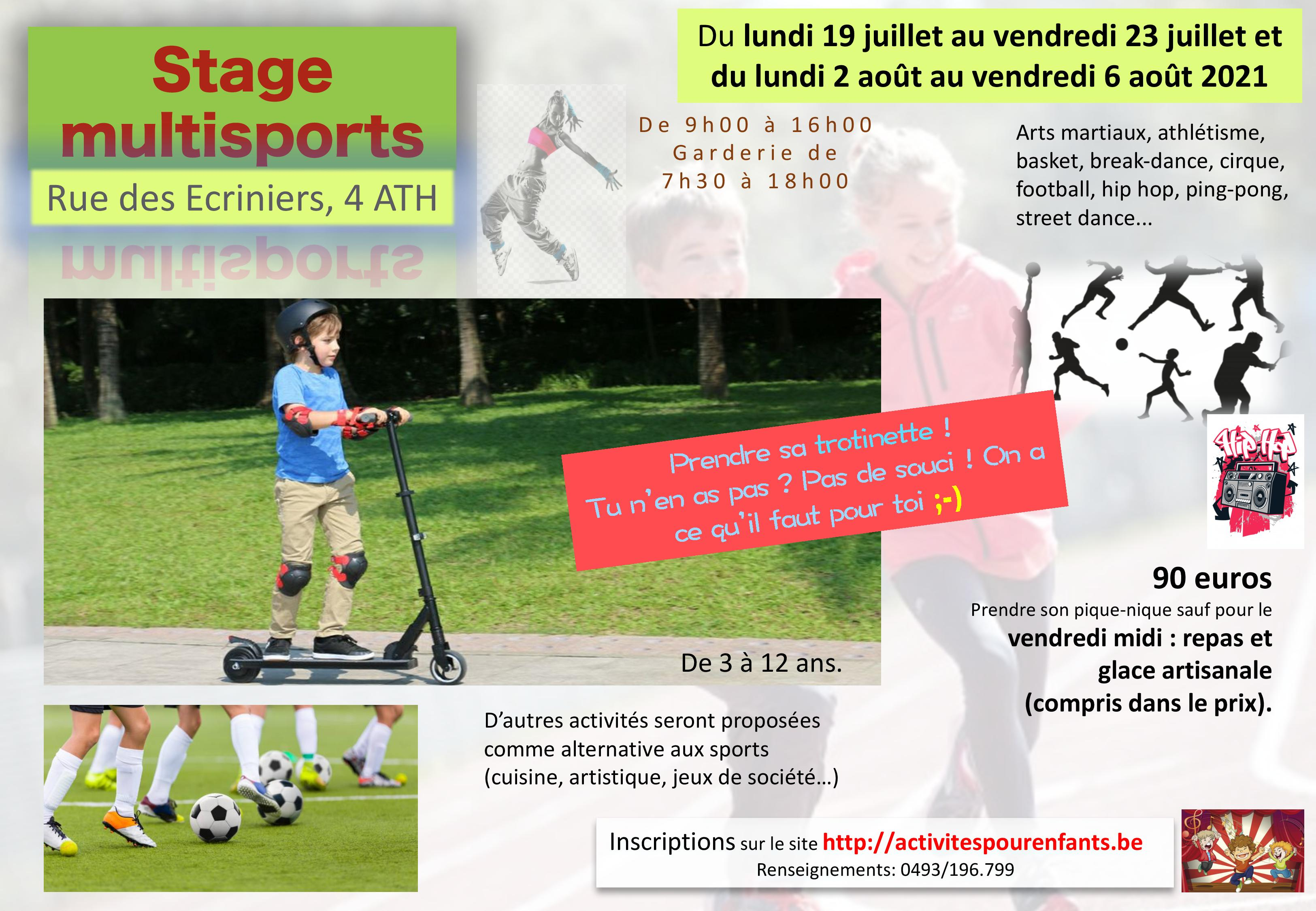 Stage multisports Ath