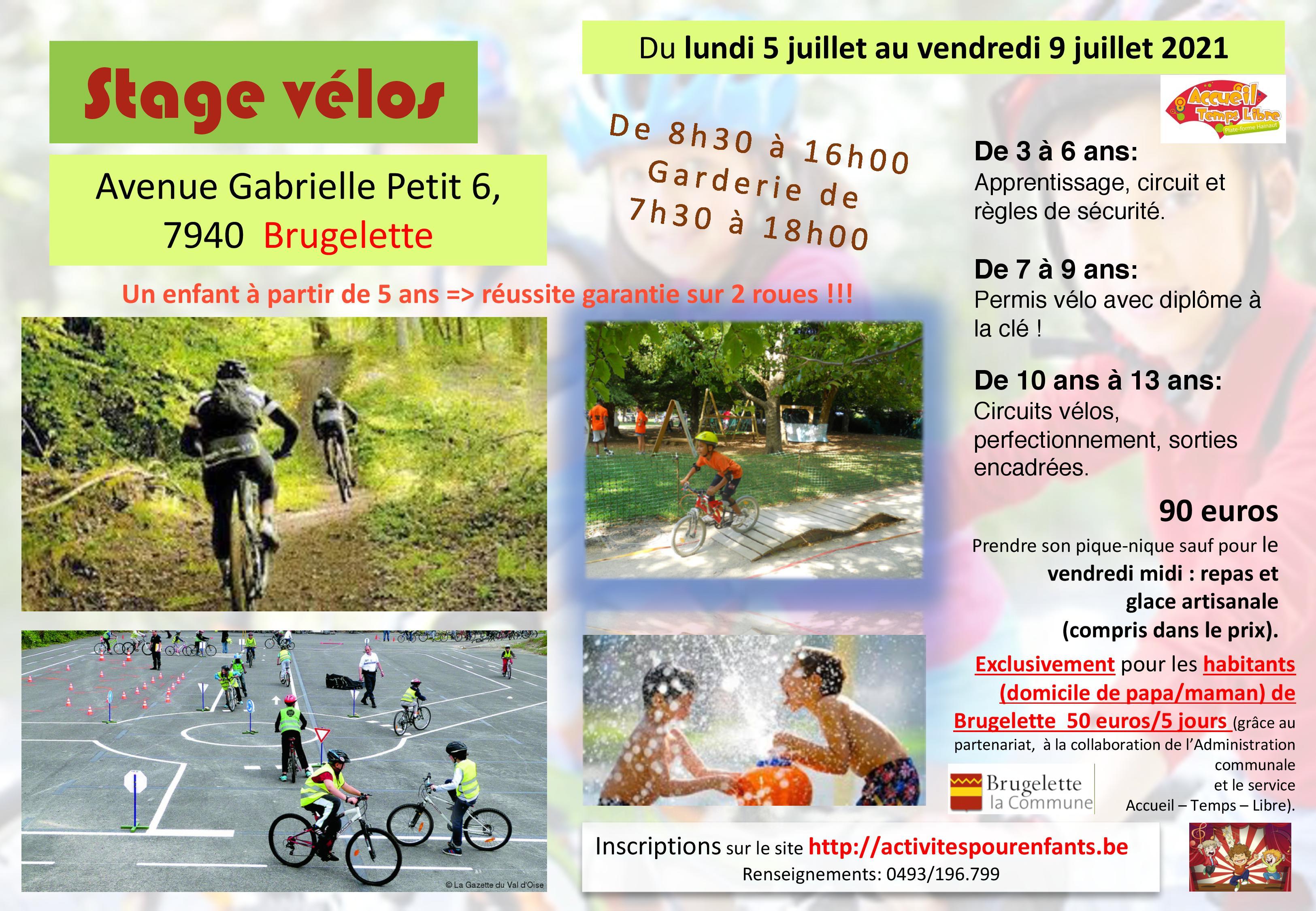 Stage vélo Brugelette