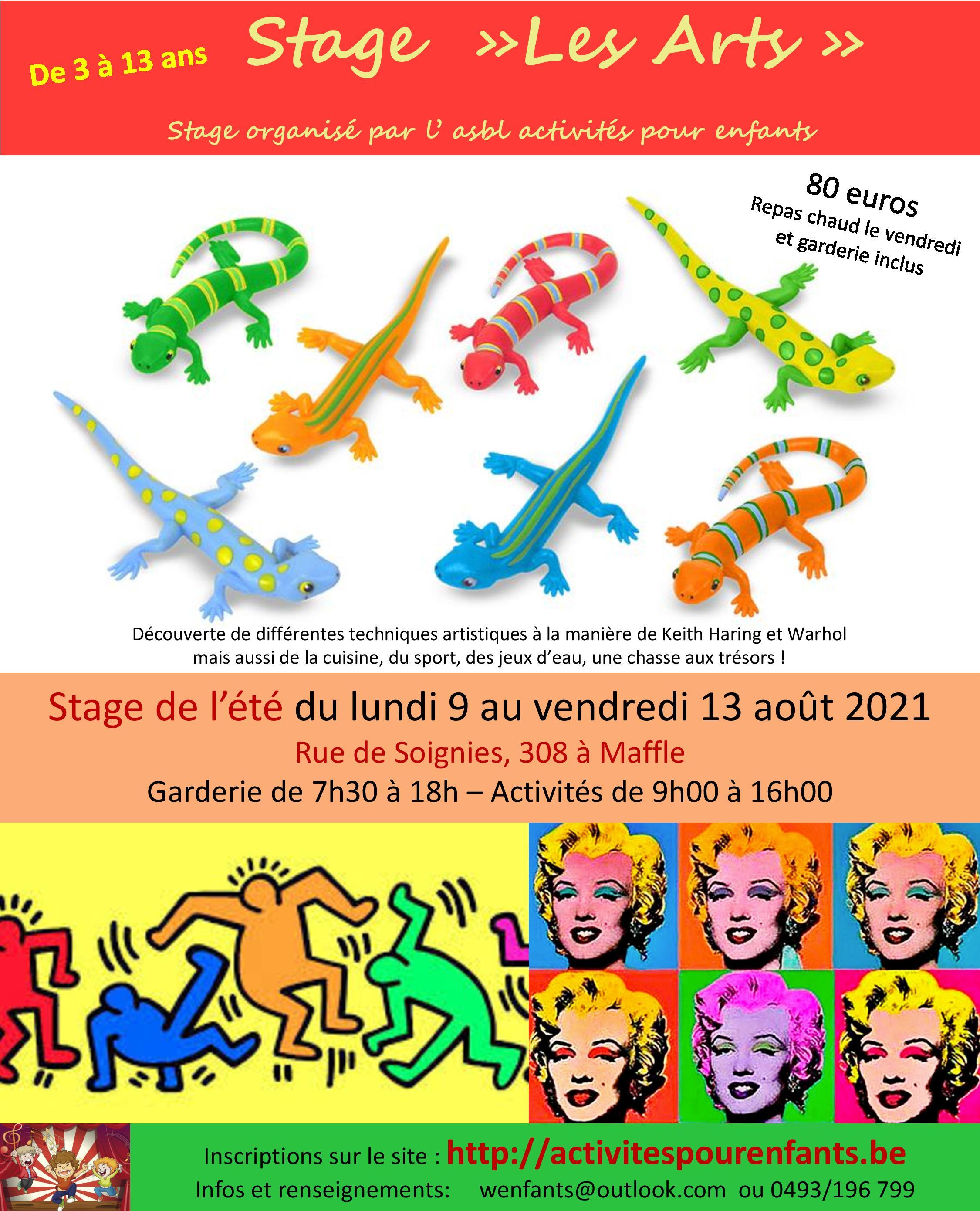 Stage Les Arts à Maffle