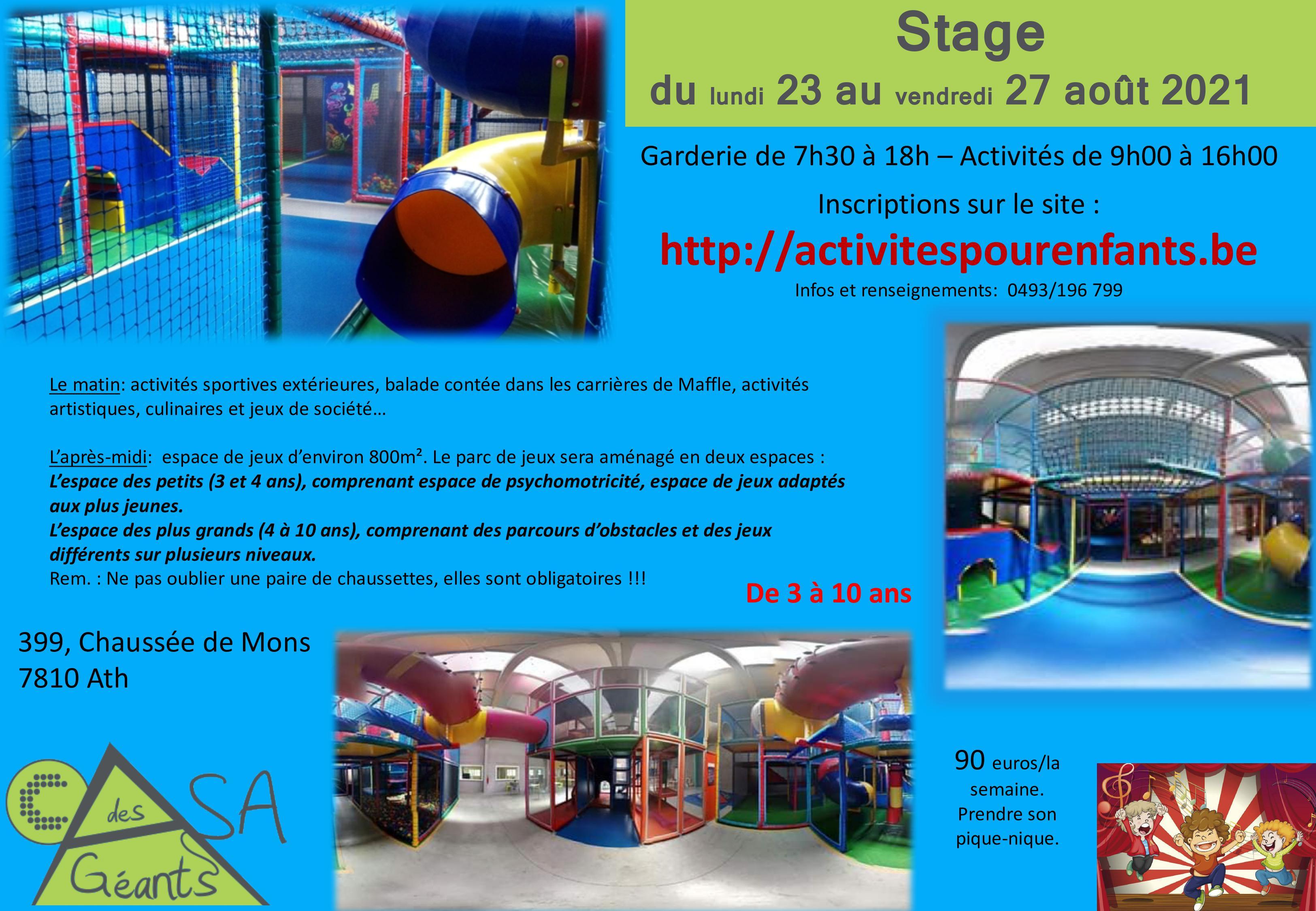 Stage Casa des Géants
