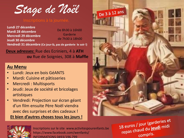 Stage Noël